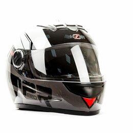 Спортивная защита - Шлем мото HIZER 523, 0