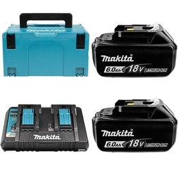 Батарейки - Набор питания LXT в кейсе MakPac тип 3 Makita 198080-9, 0