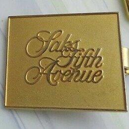 Запонки и зажимы - Зажим для галстука Saks 5 th Avenue 90х годов, 0