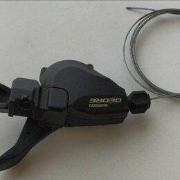 Манетки и шифтеры - Переключатель передних Shimano deore sl-m610 манетка 2-3 скорости, 0