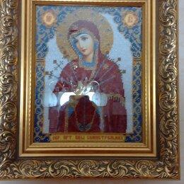 Картины, постеры, гобелены, панно - Русская искусница умягчение злых сердец богородица, 0