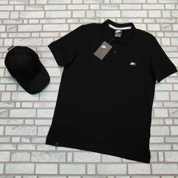 Футболки и майки - Поло мужское цвет черный, 0