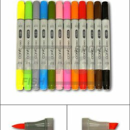 Письменные и чертежные принадлежности - Маркер Fly Dye Pen Dk Brown, 0