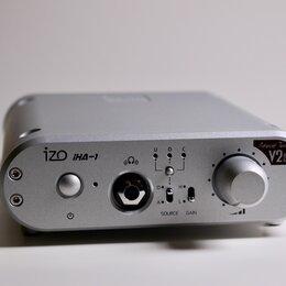 Цифро-аналоговые преобразователи - ЦАП Hi-End DAC IZO iHA-1 V2 SX + усилитель, Япония, 0
