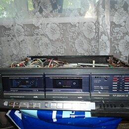 Музыкальные центры,  магнитофоны, магнитолы -  2х касетный магнитофон Нота 220м, 0