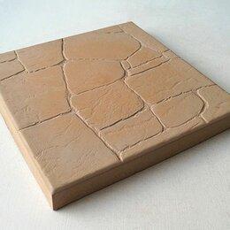 "Тротуарная плитка, бордюр - Тротуарная плитка ""Старый камень"" 300х300х30, 0"