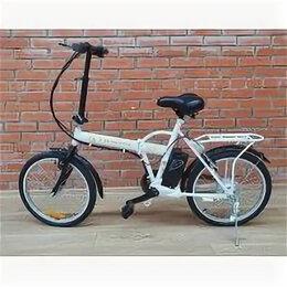 Велосипеды - Электровелосипед GT складной, 0