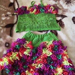 Платья и сарафаны - Детское вязанное платье, 0