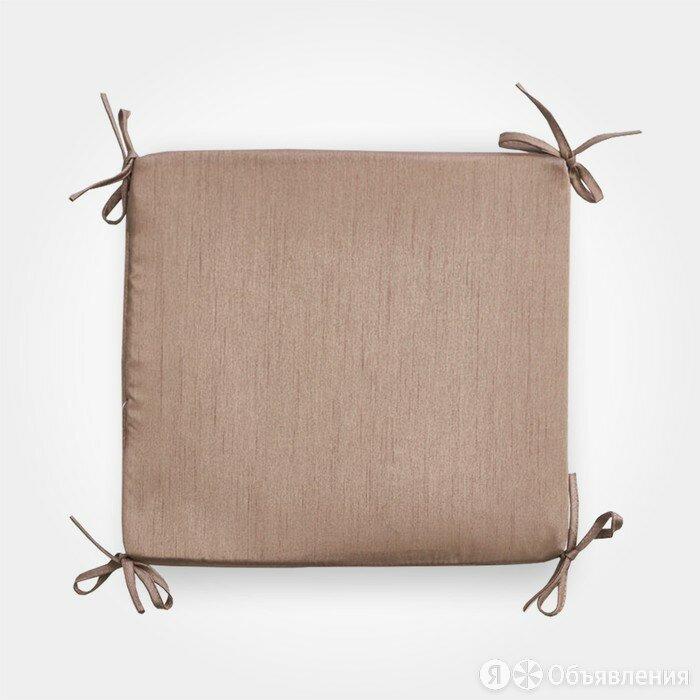 Сидушка на стул бамбук 34х34х1,5 см по цене 473₽ - Декоративные подушки, фото 0