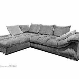 """Диваны и кушетки - """"Лаунж"""" диван с оттоманкой; нераскл.; левый; Tula 11+Mega 22 (гр.Т6/МТХ), 0"""