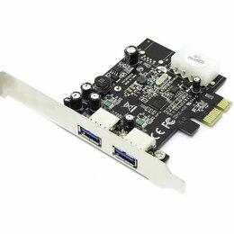 USB-концентраторы - PCI-E NEC Контроллер  USB 3.0 ** 2 порта **, 0