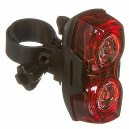 Фонари - Фара велосипедная STG TL5425, задняя, 2 красных диода, *0,5wt, Х88370, 0