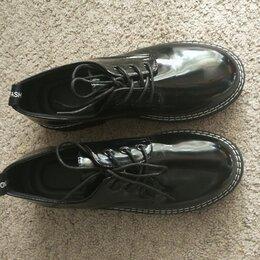 Ботинки - Полуботинки лаковые женские, 0