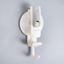 Информационные табло - Крючок на вакуумной присоске «Универсал», цвет белый, 0