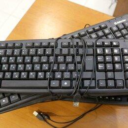 Клавиатуры - Клавиатура черная USB, 0