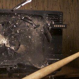 Запчасти к аудио- и видеотехнике - Разбитый телевизор , 0