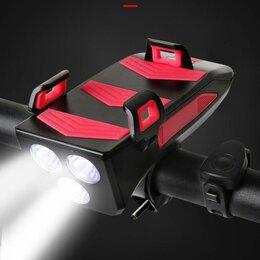 Фонари - Велосипедный фонарь многофункциональный 4 в 1, 0