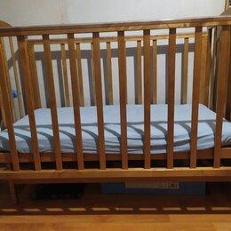 Кроватки - Кроватка красная звезда гоша с848, 0