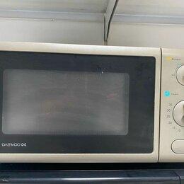 Микроволновые печи - Микроволновая печь Daewoo KOG-4125GA б/у, 0
