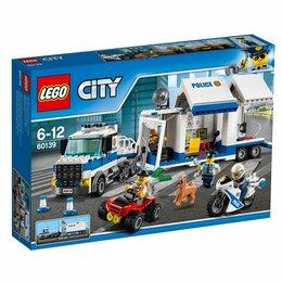 """Конструкторы - Конструктор LEGO City 60139 """"Мобильный командный центр"""", 0"""