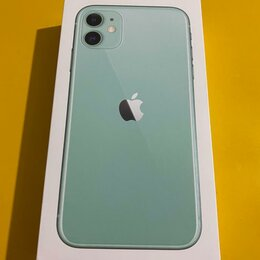 Мобильные телефоны - iPhone 11 128 gb green+наушники+зарядник, 0