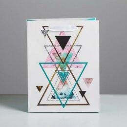 Подарочная упаковка - Пакет ламинированный вертикальный «Улыбнись миру», MS 18 × 23 × 10 см   4725160, 0