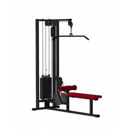 Гребные тренажеры - Комбинированная тяга сверху Iron King IK 04, 0