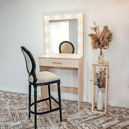 Столы и столики - Гримёрный стол под барный стул и гримёрное зеркало, 0