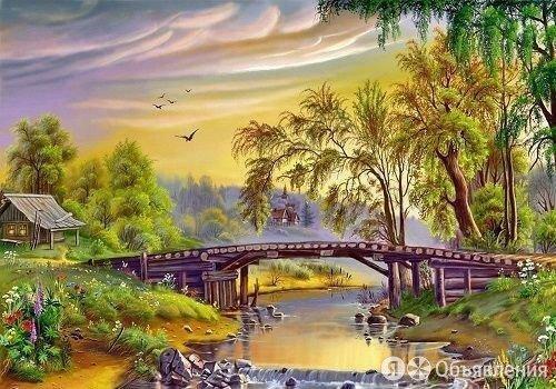 """Картины по номерам Paintboy """"Мост через реку"""" по цене 550₽ - Раскраски и роспись, фото 0"""