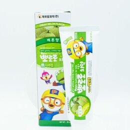 Зубная паста - Детская зубная паста со вкусом дыни Pororo Dental Smile, 0