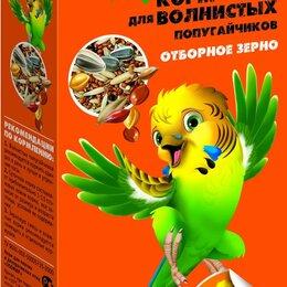 Корма - Весёлый попугай д/волн. попугаев ОТБОРНОЕ ЗЕРНО 450г , 0