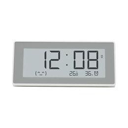 Метеостанции, термометры, барометры - Метеостанция с часами Xiaomi Smart Clock Temperature And Humidity Meter (MHO-..., 0