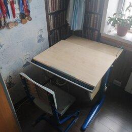 Компьютерные и письменные столы - Парта трансформер дэми сут-25-04д2, 120х82х75 см, 0