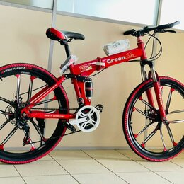 Велосипеды - Велосипед новый складной , 0