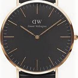 Наручные часы - Наручные часы daniel wellington classic black cornwall lady rose gold, 0