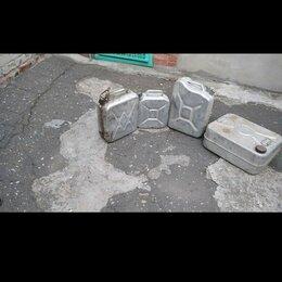 Канистры - Канистра 20 литров для бензина алюминиевая с прижимной крышкой, 0