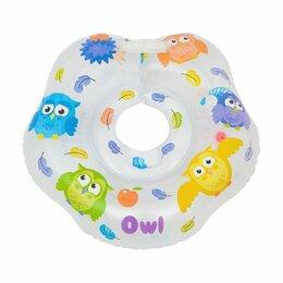 Ванночки - RN-002 ROXY-KIDS Круг-воротник на шею Owl для купания, 0