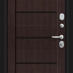 Входные двери - Дверь входная Борн 117.М22 Лунный камень/Wenge Veralinga, 0