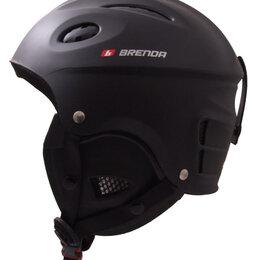 Спортивная защита - Шлем г/л Brenda, Wolf матовый черный М,L, 0