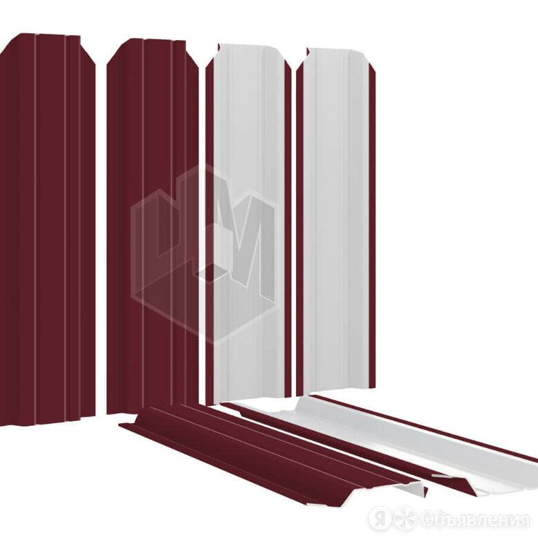 Штакетник металлический Узкий 85мм RAL3005 Красное вино по цене 128₽ - Заборы, ворота и элементы, фото 0