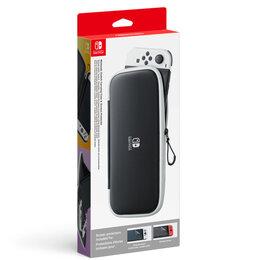 Аксессуары - Чехол и защитная плёнка для Nintendo Switch OLED-модель, 0
