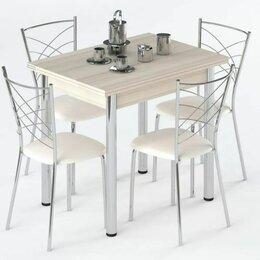 Столы и столики - Набор мебели для кухни Leset Лиль 1Р + Рейн, Антрацит, 0