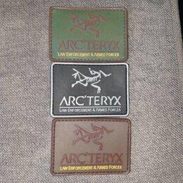 Рукоделие, поделки и сопутствующие товары - Arcteryx LEAF Patch Rubber PVC Velcro, 0