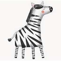Интерьерная подсветка - Шар Милая зебра, 0