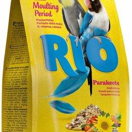 Корма - РИО  Корм для средних попугаев в период линьки 1кг, 0