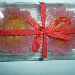 Декоративные свечи - Свечи 2шт в коробке цветок 12x7x3см, 0