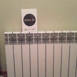 Радиаторы - Радиатор алюминиевый 2шт.10-12секций 4000р новые , 0