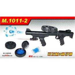 Игрушечное оружие и бластеры - Автомат с пулями с фонариком в пакете 1011-2, 0