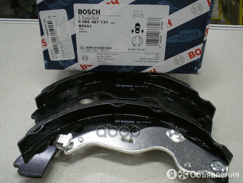 Колодки Барабан. Suzuki Sx4 2006-2016 Bosch арт. 0 986 487 731 по цене 2050₽ - Тормозная система , фото 0