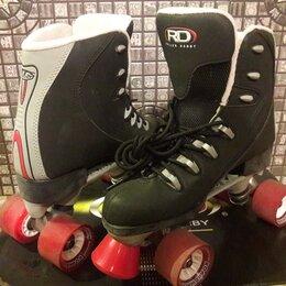 Роликовые коньки - Роликовые коньки Roller Derby RTS400, 0
